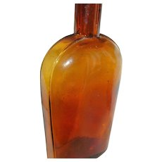 Antique Union Oval Flask