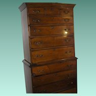Federal Chest on Chest 1750-1790's