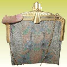 Vintage Art Deco Whiting & Davis Mesh Bag