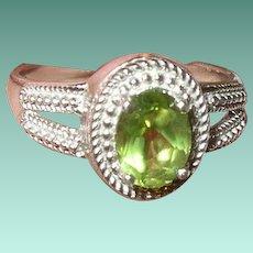 Vintage Sterling Ring Tanzanite