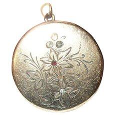 Edwardian Gold Filled Locket