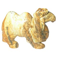 Vintage Miniature Camel Carving