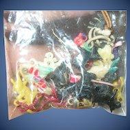 Vintage Cracker Jack Prize Charms 15 pcs.