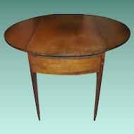 Federal Drop Leaf Table 1790's
