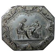 Quarter Plate Daguerreotype Case Photo 1856-1867