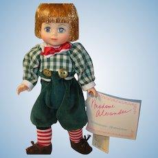 """Vintage Madame Alexander Doll Tommy Tittlemouse 8"""""""