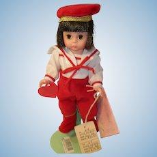 "Vintage Madame Alexander Doll Lord Valentine 8"""