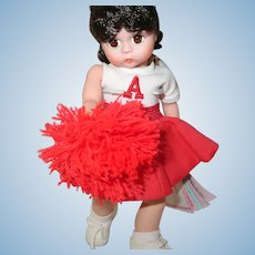 Vintage Madame Alexander Doll Cheerleader 8""