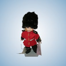 Vintage Madame Alexander Doll English Guard 8""