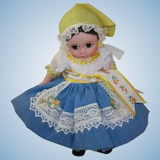 "Vintage Madame Alexander Doll Bohemia 8"""