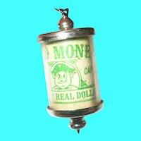 Vintage Sterling Charm Mad Money