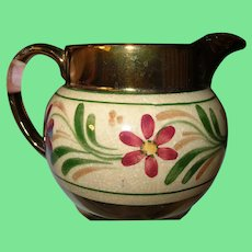 Vintage Wade English Lusterware Jug Pitcher