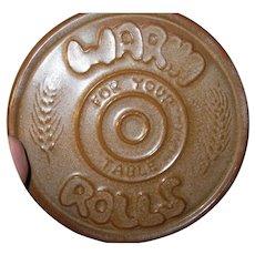Vintage Frankoma Pottery Trivet Hot Plate
