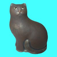 Vintage Cat Figurine by Artisans