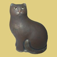 Vintage Cat Figurine by Artisans