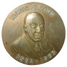 Vintage Edwin J. Cohn Medal