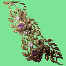 Vintage Link Bracelet by Coro