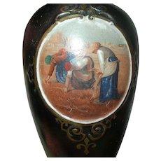 Vintage Porcelain Vase Iridescent