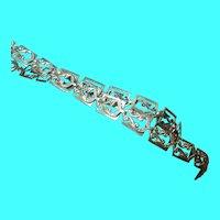 Vintage Sterling Danecraft Link Necklace