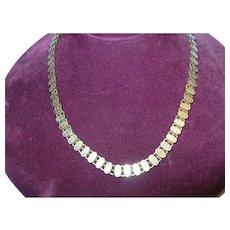 Antique Victorian Gold Filled Link Necklace