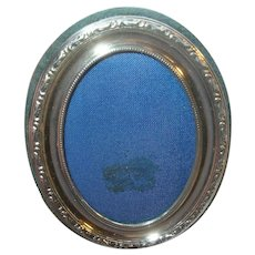 Vintage Sterling Picture Frame