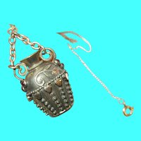 Victorian Gold Filled Necklace Pendant