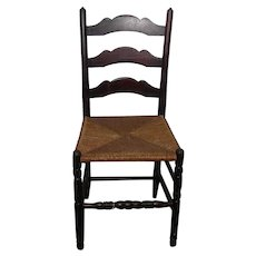 Antique Ladder Back Chair 1820's