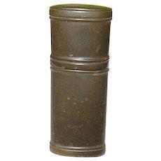 Antique Gutta Percha Match Safe
