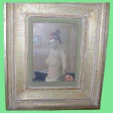 Alexander Brook (1898-1980) Oil on Canvas Nude