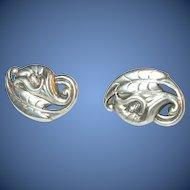 Vintage Sterling Silver Earrings