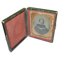 Daguerreotype  Child's Portrait & Case