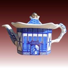 Burleigh Pagoda Porcelain Teapot England