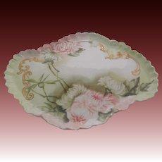 Elite Limoges France Porcelain Dresser Tray 1898