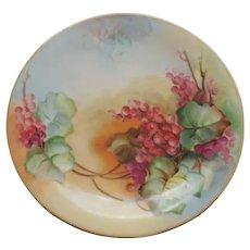Charles Martin Limoges France Porcelain Plate 1891-1935