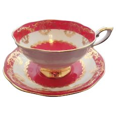 English Royal Standard Cup and Saucer