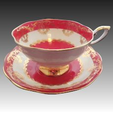 English Royal Standard Cup and Saucer