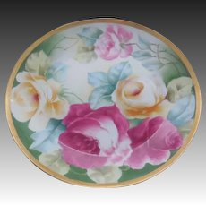 Coronet Limoges Cabinet Plate Plate 1908-1914