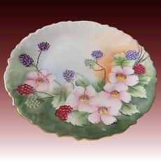 """D & C Limogoes France porcelain Plate 8.25"""""""