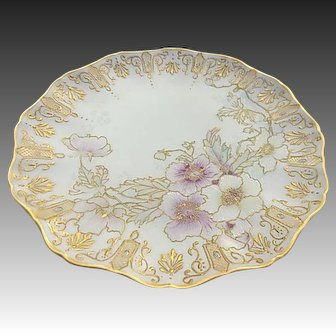 French Jean Pouyat Limoges France Porcelain Plate