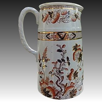 English Ironstone Indiantree Pitcher