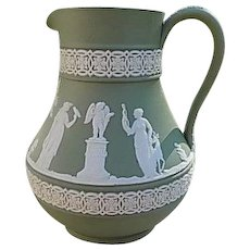 Wedgwood Sage Pitcher 1890's