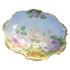 Limoges France Porcelain Plate LDBC