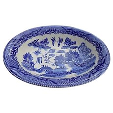 Blue Willow Vegetable Serving Bowl