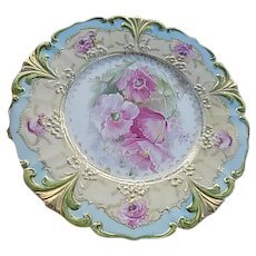 RS Prussia 1870-1918 Green Mark Scalloped Plate