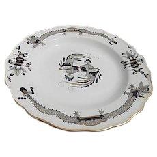 Dresden 7,5 inch Porcelain Plate Circa 1815