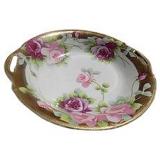 Nippon Floral Porcelain Bowl
