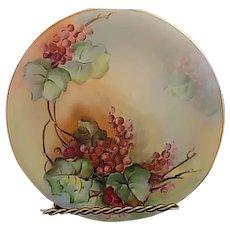 Charles Martin Limoges France Porcelain Plate circa 1891-1935