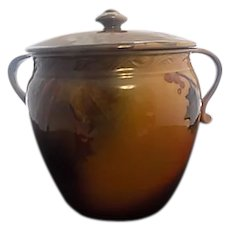 Rookwood Porcelain Humidor - Marked & Signed