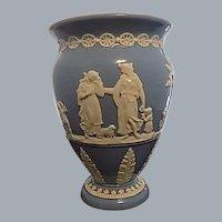 "Dudson Bros. Blue Vase 6.75"" England"