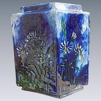 J T Wheatly Vase 1880 Signed and Dated